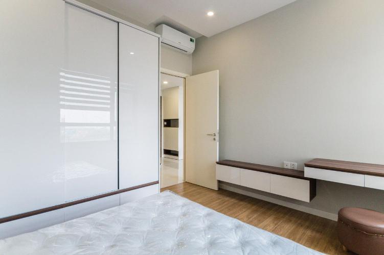 phòng ngủ căn hộ Masteri An Phú Căn hộ Masteri An Phú tầng cao đầy đủ nội thất, view thành phố.