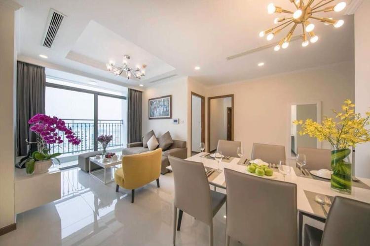 Căn hộ tầng 29 Vinhomes Central Park đầy đủ nội thất