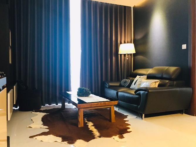 Căn hộ cao cấp Vinhomes Central Park tầng cao, đầy đủ nội thất.