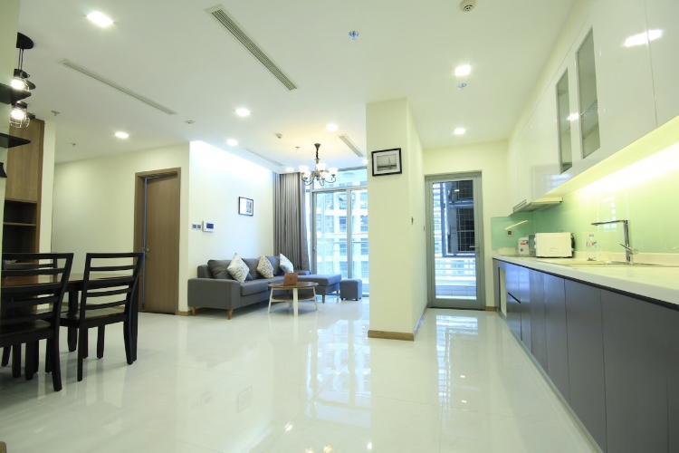 Căn hộ tầng 25 Vinhomes Central Park nội thất đầy đủ