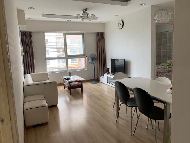 Căn hộ Dragon Hill Residence and Suites nội thất đầy đủ.