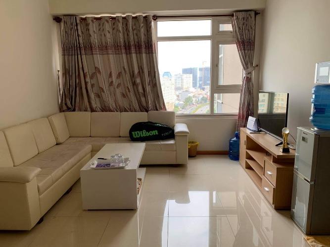 Phòng khách Saigon Pearl Quận Bình Thạnh Căn hộ Saigon Pearl tầng thấp, nội thất đầy đủ.
