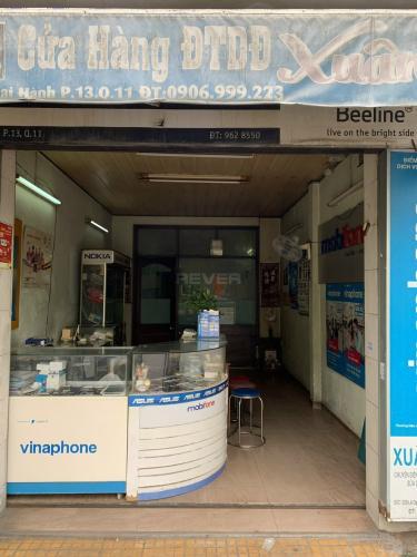 Mặt bằng kinh doanh Quận 11 Mặt bằng kinh doanh đường Lê Đại Thành, diện tích 24.5m2.