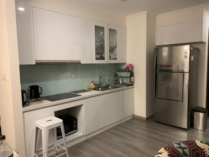 Phòng bếp căn hộ Vinhomes Central Park Căn hộ Vinhomes Central Park đầy đủ tiện nghi, view tầng cao cực đẹp.