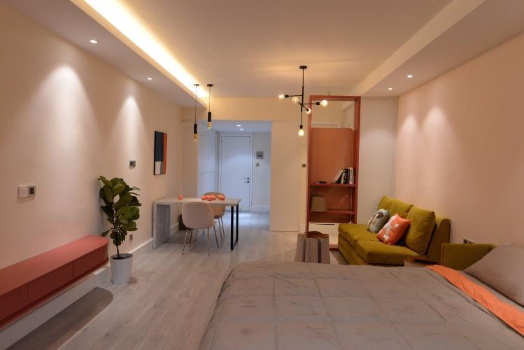 Căn hộ 89-91 Nguyễn Du tầng 7 ban công hướng Đông, nội thất đầy đủ hiện đại.