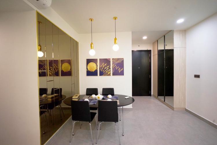 Phòng ăn Feliz En Vista Căn hộ Feliz En Vista tầng cao, bàn giao đầy đủ nội thất,