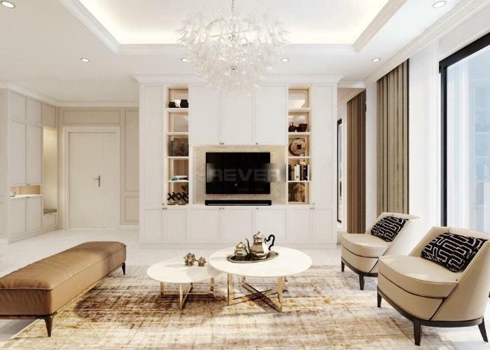Penthouse Vinhomes Central Park diện tích 168m2, đầy đủ nội thất.