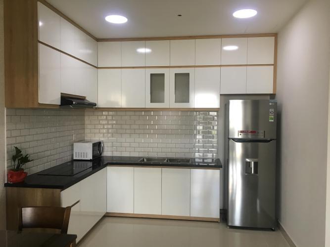 Nhà bếp căn hộ The Sun Avenue Căn hộ tầng cao The Sun Avenue, tiện ích cao cấp, nội thất đầy đủ.