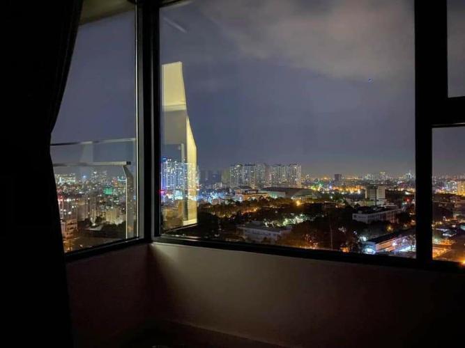 View nhìn căn hộ Kingdom 101 Cho thuê căn hộ Kingdom 101 quận 10, diện tích 70.58m2 - 2 phòng ngủ, nội thất cơ bản