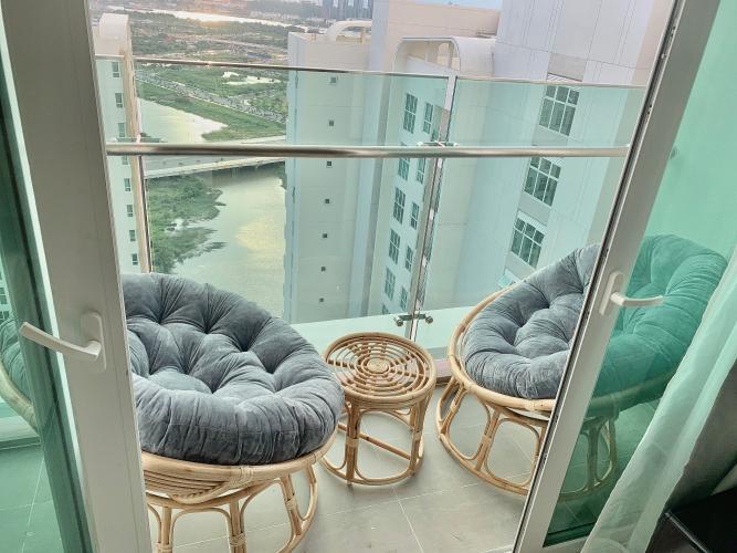 Căn hộ Sadora Apartment tầng 21 view thoáng mát, đầy đủ nội thất.