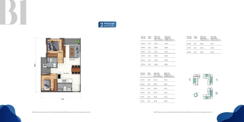 Bán căn hộ Lovera Vista tầng cao, tiện ích đa dạng, nội thất cơ bản.
