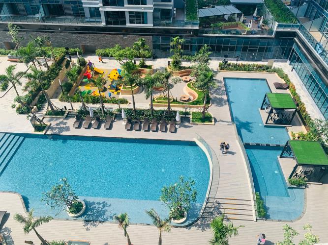 Tiện ích căn hộ Sunwah Pearl, Bình Thạnh Căn hộ Sunwah Pearl view hồ bơi thoáng mát, tiện ích đầy đủ.