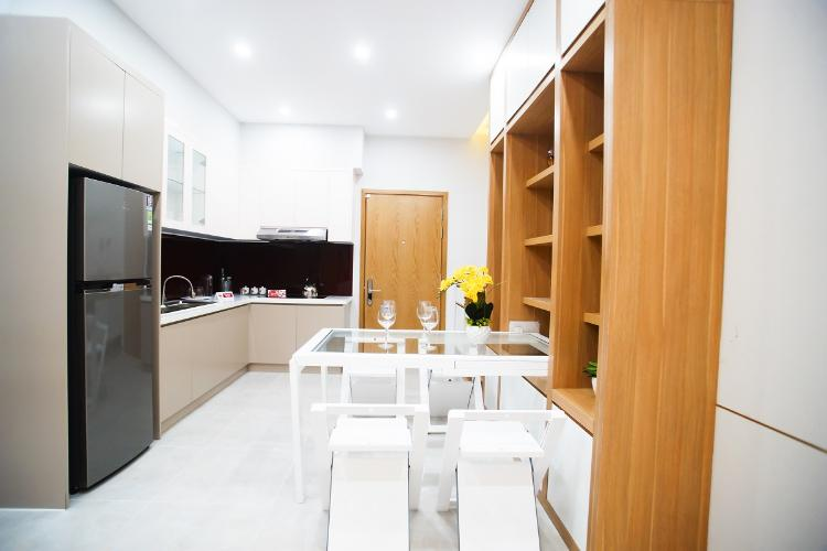 Nhà mẫu Saigon Intela, Bình Chánh Căn hộ tầng trung Saigon Intela nội thất cơ bản.