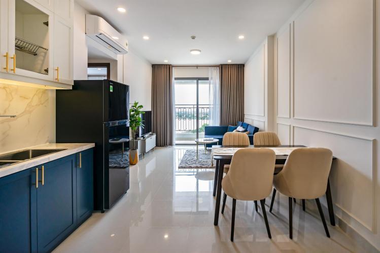 Phòng bếp căn hộ Saigon Royal Căn hộ Saigon Royal tầng trung, view nhìn ra hướng tòa nhà Bitexco