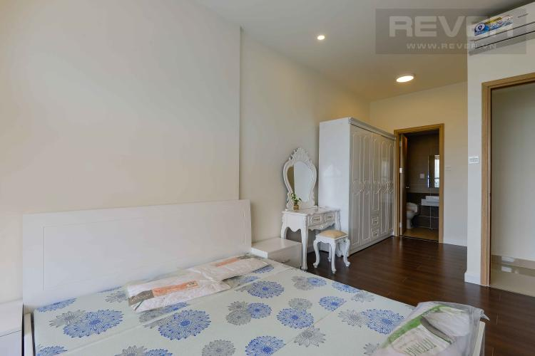 Phòng Ngủ 1 căn hộ The Sun Avenue view sông và hướng Đông Nam đón gió