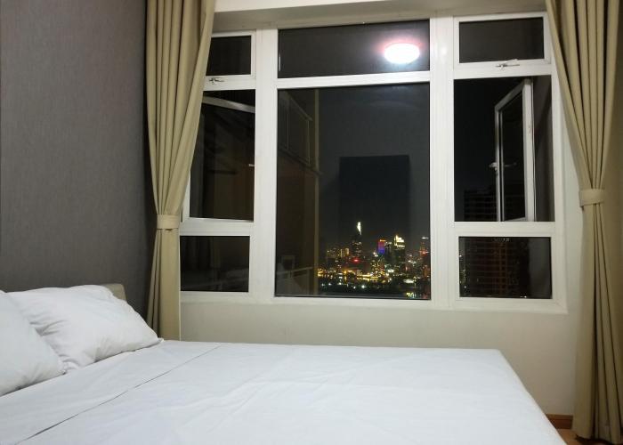 Phòng ngủ Saigon Pearl Quận Bình Thạnh Căn hộ Saigon Pearl tầng cao, nội thất đầy đủ.