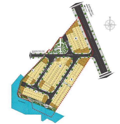 Đất nền dự án C.T.C Chủ đầu tư Vạn Phát Hưng, diện tích 100m2 vuông đẹp.