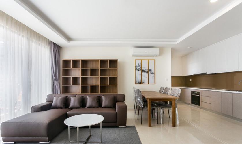 Căn hộ Masteri Millennium tầng 28 nội thất đầy đủ, ban công hướng Đông Nam