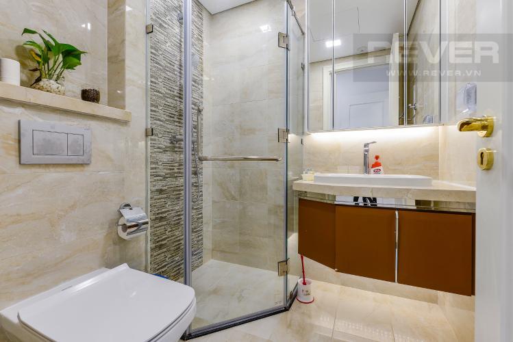Phòng tắm 2 căn hộ Vinhomes Golden River Cho thuê căn hộ Vinhomes Golden River 2PN, tầng cao, diện tích 72m2, đầy đủ nội thất, view sông Sài Gòn