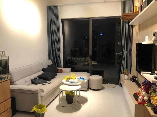 Căn hộ Safira Khang Điền tầng 12 cửa hướng Đông Nam, đầy đủ nội thất.