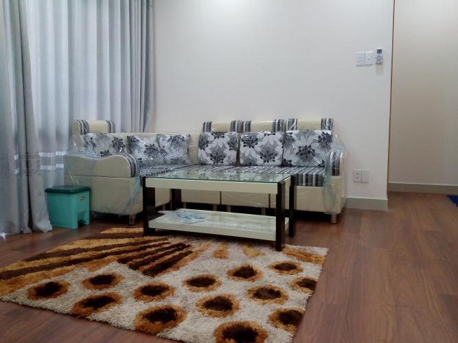 Phòng khách Him Lam Chợ Lớn Quận 6 Căn hộ Him Lam Chợ Lớn hướng Đông Nam, đầy đủ nội thất.