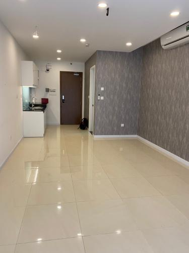 Phòng khách Masteri Millennium Quận 4 Office-tel Masteri Millennium 1 phòng ngủ, nội thất cơ bản.