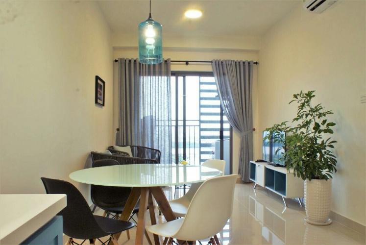Căn hộ The Sun Avenue tầng cao view sông mát mẻ, đầy đủ nội thất.