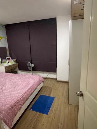 Phòng ngủ căn hộ Dragon Hill Căn hộ Dragon Hill 1 tầng trung kèm nội thất đầy đủ tiện nghi.