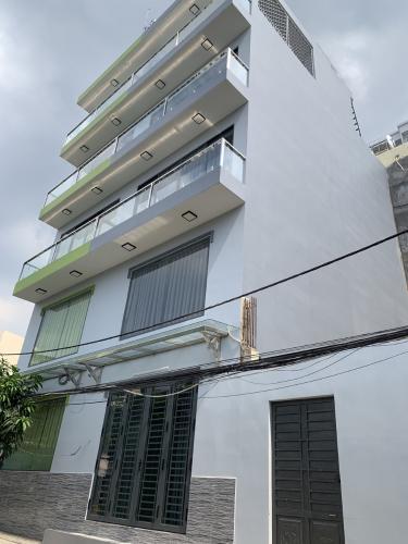 Nhà phố kết cấu 3 tầng gần Aeon Bình Tân, hướng Tây Bắc thoáng mát.