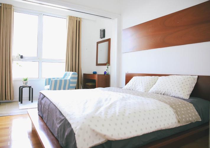 Phòng ngủ The Manor Quận Bình Thạnh Căn hộ The Manor tầng trung, view hướng Đông Nam.