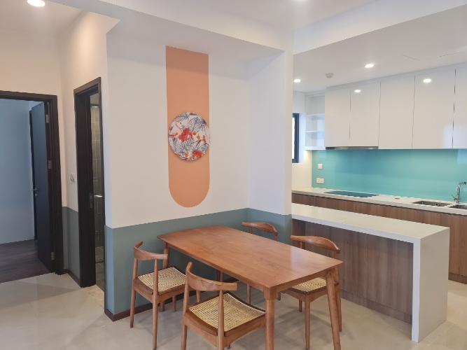 Phòng bếp One Verandah Quận 2 Căn hộ One Verandah tầng trung, thiết kế năng động.
