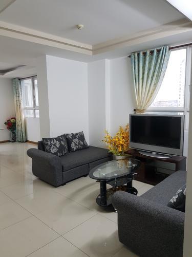 Căn hộ chung cư BMC tầng trung, nội thất cơ bản.