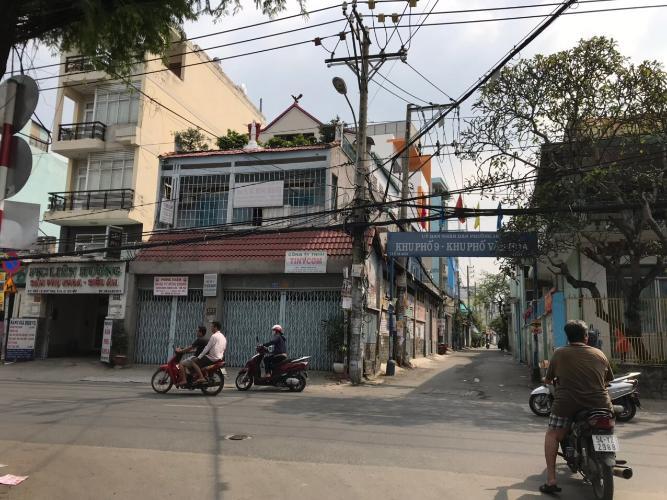 Phía trước nhà phố Lê Đức Thọ, Gò Vấp Nhà phố 1 trệt 1 lầu hướng Đông Bắc, hẻm nội bộ thoáng mát.