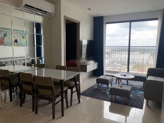 Phòng khách căn hộ Vinhomes Grand Park Căn hộ Vinhomes Grand Park tầng cao hướng cửa Đông Nam, 2 phòng ngủ.