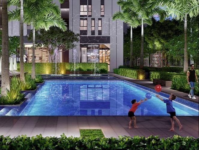 Tiện ích căn hộ Citi Esto, Quận 2 Căn hộ tầng 9 Citi Esto ban công rộng rãi thoáng mát, nội thất cơ bản.