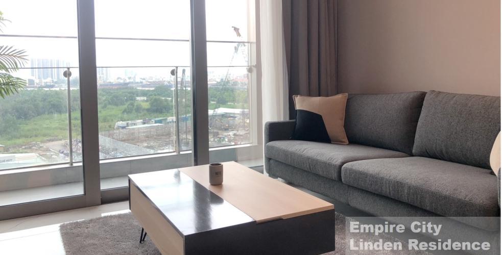Căn hộ Empire City, Quận 2 Căn hộ Empire CIty tầng 7 đón gió thoáng mát, đầy đủ nội thất hiện đại.