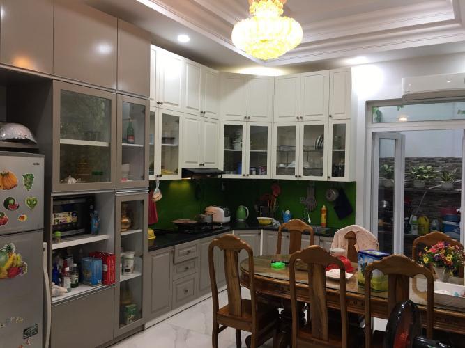 Phòng bếp nhà phố Gò Vấp Nhà phố đường số 2, kết câu 1 trệt 3 lầu hướng Tây Bắc, nội thất cơ bản.