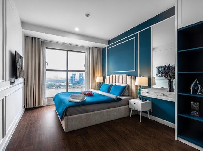 Phòng ngủ Saigon Royal, Quận 4 Căn hộ Saigon Royal tầng cao đón view sông, đầy đủ nội thất.