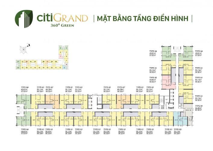 Bán căn hộ CitiGrand Kiên Á vị trí thuận lợi, tiện ích đầy đủ.