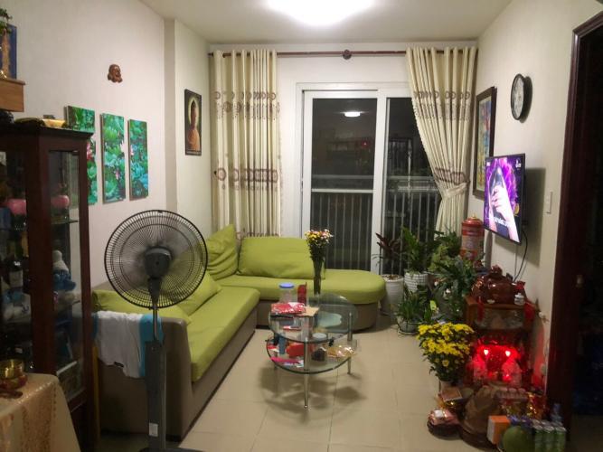 Căn hộ Thủ Thiêm Xanh tầng thấp, nội thất cơ bản.