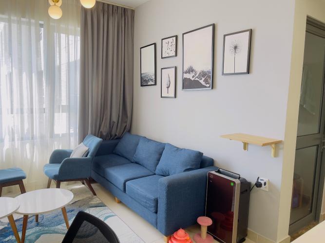 Căn hộ Masteri Thảo Điền tầng cao view nội khu yên tĩnh, nội thất đầy đủ.