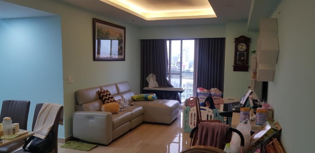 Căn hộ Happy City tầng thấp nội thất cơ bản, tiện ích đầy đủ.