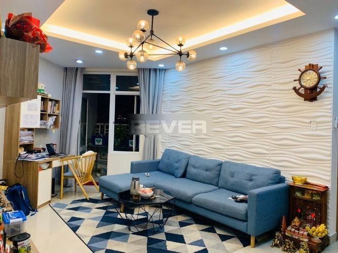 Căn hộ cao cấp Him Lam Chợ Lớn tầng 10, đầy đủ nội thất hiện đại.