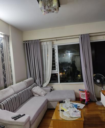 Căn hộ E-Home 5 The Bridgeview hướng Đông Nam, đầy đủ nội thất.
