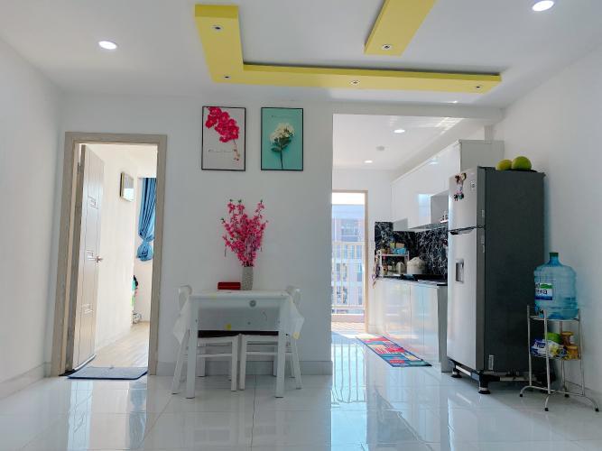 Căn hộ Sky 9 tầng 16 view đón gió mát mẻ, đầy đủ nội thất hiện đại.