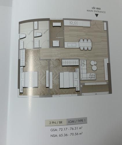 Căn hộ Masteri Centre Point tầng cao, nội thất cơ bản.