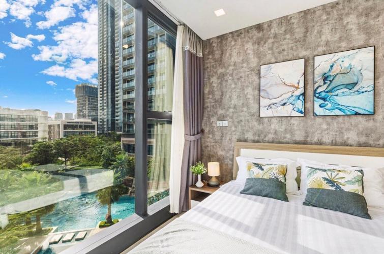 Phòng ngủ Vinhomes Golden River, Quận 1 Căn hộ tầng thấp Vinhomes Golden River hướng Tây Nam.