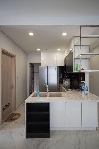 Phòng bếp Phú Mỹ Hưng Midtown Căn hộ Phú Mỹ Hưng Midtown tầng thấp, đầy đủ nội thất, view nội khu.