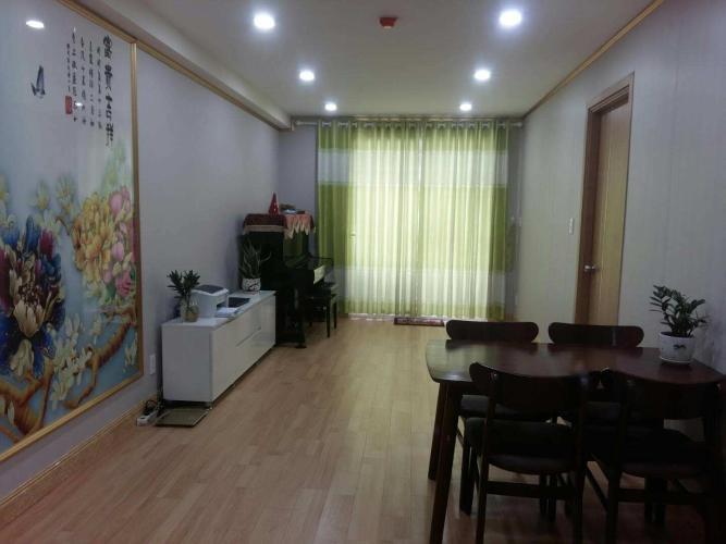 Căn hộ Starlight Riverside tầng 7 thoáng mát, nội thất cơ bản.