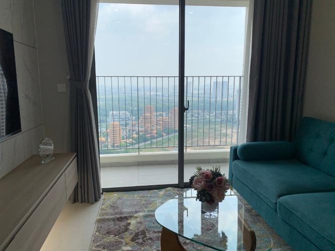 Căn hộ Masteri An Phú tầng 33 view thành phố sầm uất, đầy đủ nội thất.
